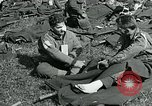 Image of wounded soldiers Saint Mere Eglise France, 1944, second 5 stock footage video 65675038875