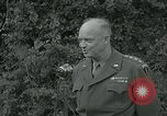 Image of General Dwight Eisenhower Paris France, 1944, second 3 stock footage video 65675038884