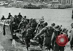 Image of British troops English Channel, 1944, second 9 stock footage video 65675038891