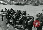 Image of British troops English Channel, 1944, second 10 stock footage video 65675038891