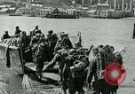 Image of British troops English Channel, 1944, second 11 stock footage video 65675038891