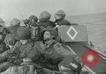 Image of US troops make amphibious assault at Omaha Beach on D-Day Normandy France, 1944, second 2 stock footage video 65675038892