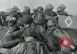 Image of US troops make amphibious assault at Omaha Beach on D-Day Normandy France, 1944, second 5 stock footage video 65675038892