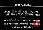 Image of Philatelic Exhibition Detroit Michigan USA, 1934, second 1 stock footage video 65675038927