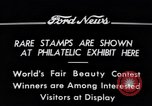 Image of Philatelic Exhibition Detroit Michigan USA, 1934, second 2 stock footage video 65675038927
