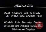 Image of Philatelic Exhibition Detroit Michigan USA, 1934, second 4 stock footage video 65675038927