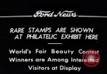 Image of Philatelic Exhibition Detroit Michigan USA, 1934, second 9 stock footage video 65675038927