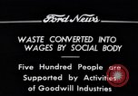 Image of Goodwill Industries Detroit Michigan USA, 1934, second 6 stock footage video 65675038928