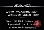 Image of Goodwill Industries Detroit Michigan USA, 1934, second 11 stock footage video 65675038928