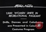 Image of Annual Recreational Pageant Detroit Michigan USA, 1934, second 8 stock footage video 65675038931