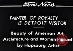 Image of Hapsburg Artist Detroit Michigan USA, 1934, second 11 stock footage video 65675038939