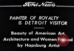 Image of Hapsburg Artist Detroit Michigan USA, 1934, second 12 stock footage video 65675038939