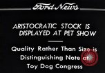 Image of pet show Detroit Michigan USA, 1934, second 9 stock footage video 65675038941