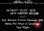 Image of Colonel Roscoe Turner Detroit Michigan USA, 1934, second 1 stock footage video 65675038942