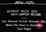 Image of Colonel Roscoe Turner Detroit Michigan USA, 1934, second 4 stock footage video 65675038942