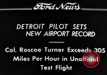 Image of Colonel Roscoe Turner Detroit Michigan USA, 1934, second 5 stock footage video 65675038942