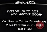 Image of Colonel Roscoe Turner Detroit Michigan USA, 1934, second 7 stock footage video 65675038942