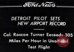 Image of Colonel Roscoe Turner Detroit Michigan USA, 1934, second 8 stock footage video 65675038942