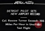 Image of Colonel Roscoe Turner Detroit Michigan USA, 1934, second 10 stock footage video 65675038942