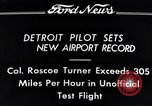Image of Colonel Roscoe Turner Detroit Michigan USA, 1934, second 11 stock footage video 65675038942
