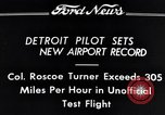 Image of Colonel Roscoe Turner Detroit Michigan USA, 1934, second 12 stock footage video 65675038942