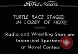 Image of Turtle race Detroit Michigan USA, 1934, second 1 stock footage video 65675038945