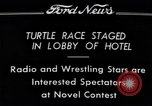 Image of Turtle race Detroit Michigan USA, 1934, second 2 stock footage video 65675038945
