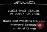 Image of Turtle race Detroit Michigan USA, 1934, second 5 stock footage video 65675038945