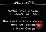 Image of Turtle race Detroit Michigan USA, 1934, second 7 stock footage video 65675038945