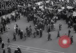 Image of crowd marching New York United States USA, 1933, second 2 stock footage video 65675038955