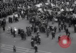 Image of crowd marching New York United States USA, 1933, second 4 stock footage video 65675038955