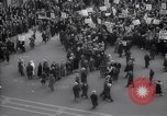 Image of crowd marching New York United States USA, 1933, second 5 stock footage video 65675038955
