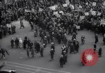 Image of crowd marching New York United States USA, 1933, second 6 stock footage video 65675038955