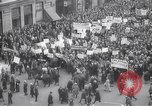 Image of crowd marching New York United States USA, 1933, second 7 stock footage video 65675038955