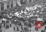 Image of crowd marching New York United States USA, 1933, second 8 stock footage video 65675038955