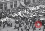 Image of crowd marching New York United States USA, 1933, second 9 stock footage video 65675038955