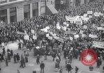 Image of crowd marching New York United States USA, 1933, second 10 stock footage video 65675038955