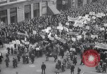 Image of crowd marching New York United States USA, 1933, second 11 stock footage video 65675038955