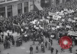 Image of crowd marching New York United States USA, 1933, second 12 stock footage video 65675038955