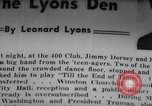 Image of Jimmy Dorsey New York United States USA, 1946, second 1 stock footage video 65675038956