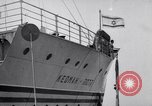 Image of passenger ship Kedmah Marseilles France, 1948, second 1 stock footage video 65675038959