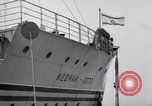 Image of passenger ship Kedmah Marseilles France, 1948, second 2 stock footage video 65675038959