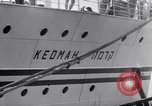 Image of passenger ship Kedmah Marseilles France, 1948, second 4 stock footage video 65675038959