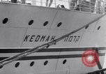 Image of passenger ship Kedmah Marseilles France, 1948, second 5 stock footage video 65675038959