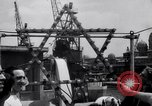 Image of passenger ship Kedmah Marseilles France, 1948, second 7 stock footage video 65675038959