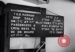 Image of passenger ship Kedmah Marseilles France, 1948, second 10 stock footage video 65675038959