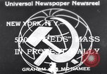 Image of Communist Parade New York United States USA, 1939, second 1 stock footage video 65675038985
