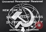 Image of Communist Parade New York United States USA, 1939, second 4 stock footage video 65675038985