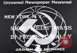 Image of Communist Parade New York United States USA, 1939, second 5 stock footage video 65675038985