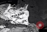 Image of Map Poland, 1937, second 2 stock footage video 65675038990